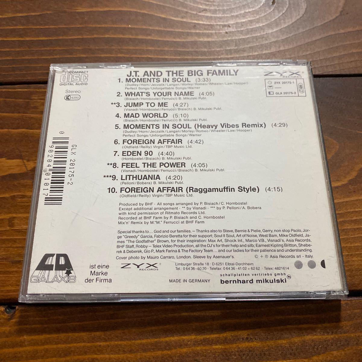 激レア! J.T. & The Big Family / 唯一のALBUM / Groundbeat / Moments In Soul収録_画像2