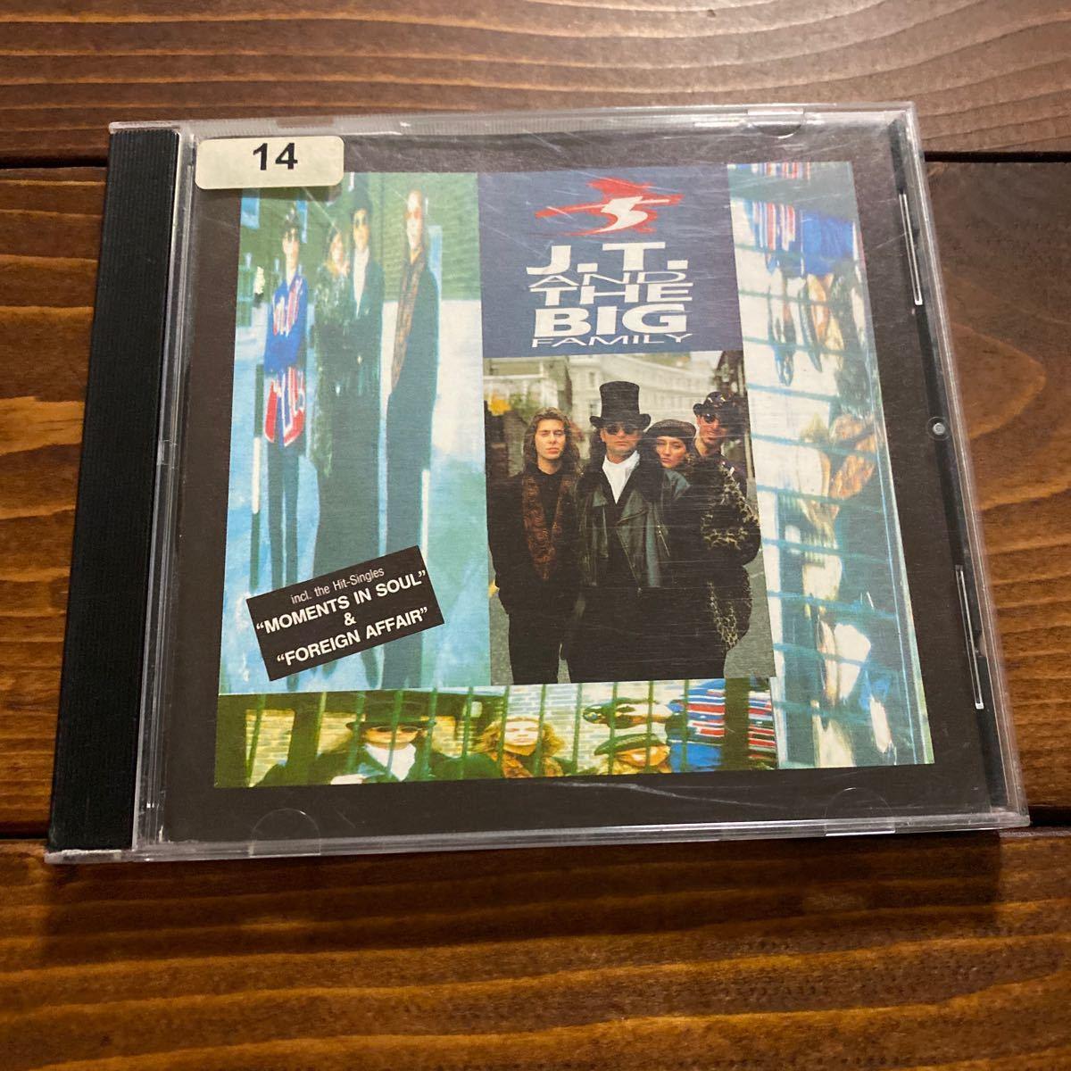 激レア! J.T. & The Big Family / 唯一のALBUM / Groundbeat / Moments In Soul収録_画像1