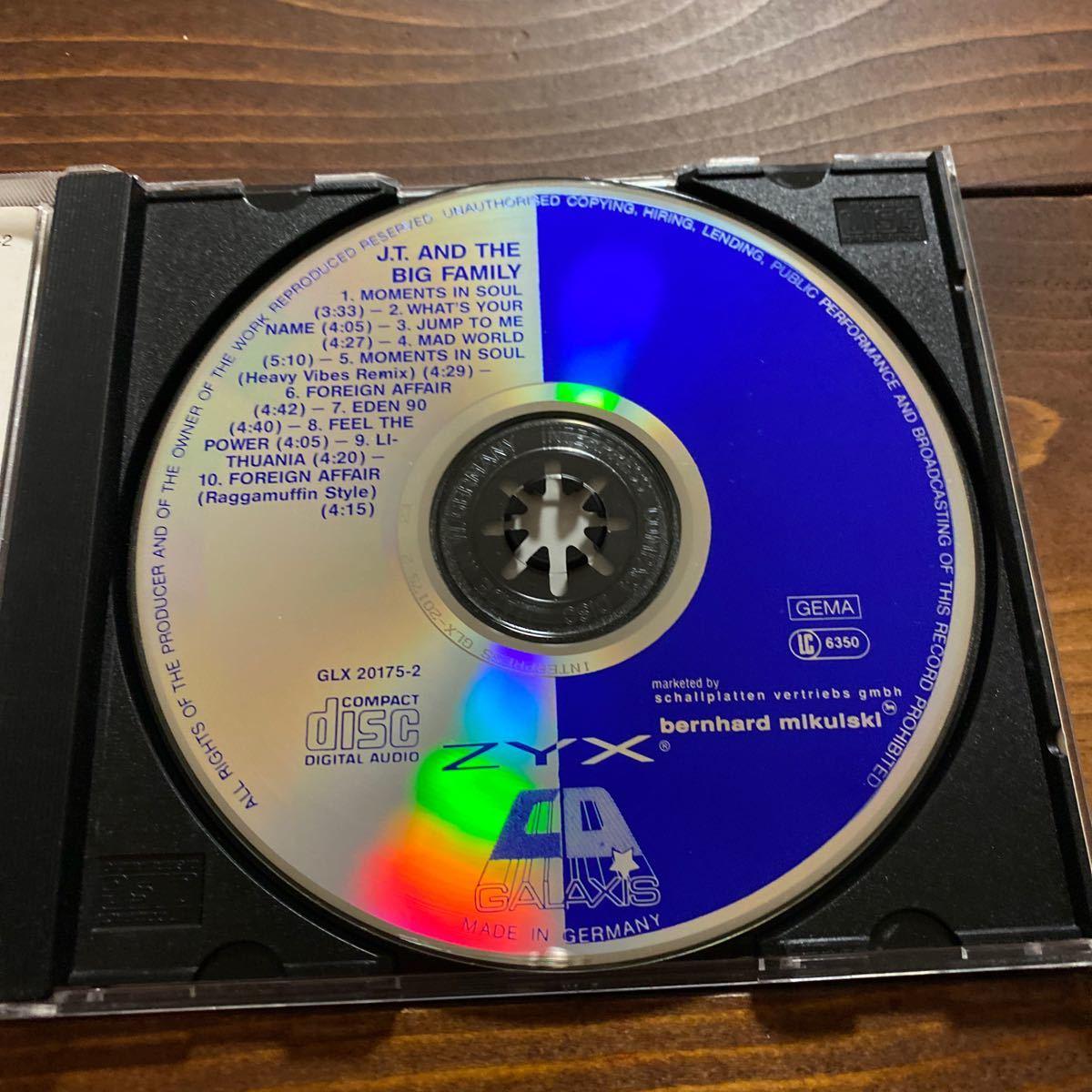 激レア! J.T. & The Big Family / 唯一のALBUM / Groundbeat / Moments In Soul収録_画像3