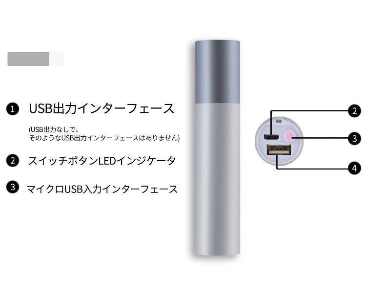 懐中電灯 高輝度 USB充電式 ledライト 防水 防災 軍用 アウトドア USB充電式 ハンディライト5モード変換可能 アルミニウム合金材 軍用 黒色