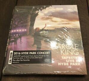 新品即決★Carole King(キャロル・キング)/Tapestry Live In Hyde Park(つづれおり ライヴ アット ハイド パーク 完全生産限定盤 CD+DVD_画像1
