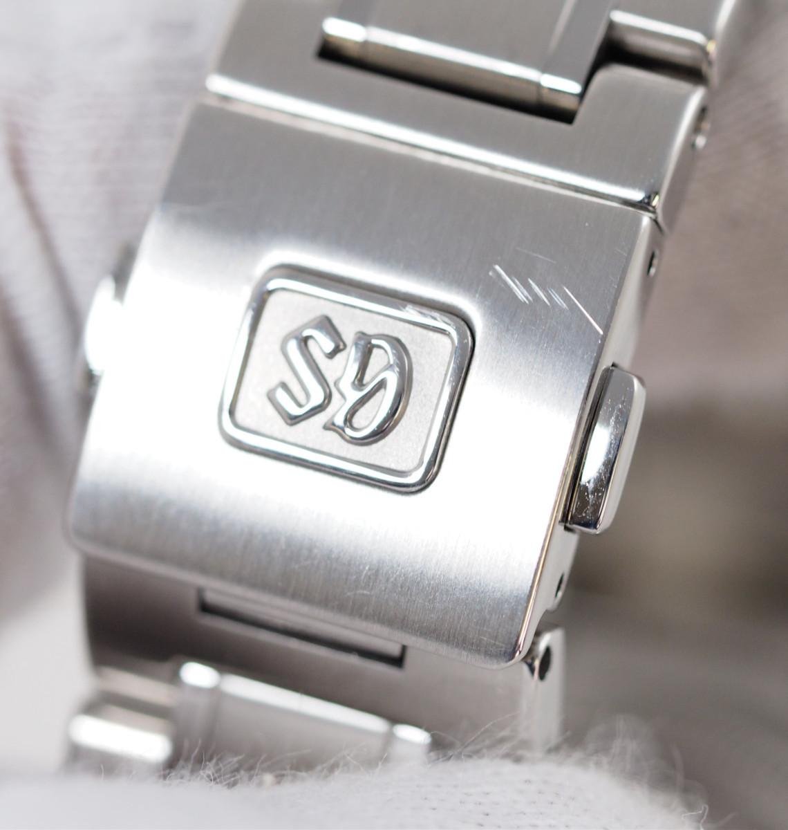 Grand Seiko グランドセイコー メカニカル ハイビート 36000GMT SBGJ203 9S86-00A0 SS メンズ オートマ ケース付き[30578]_画像8