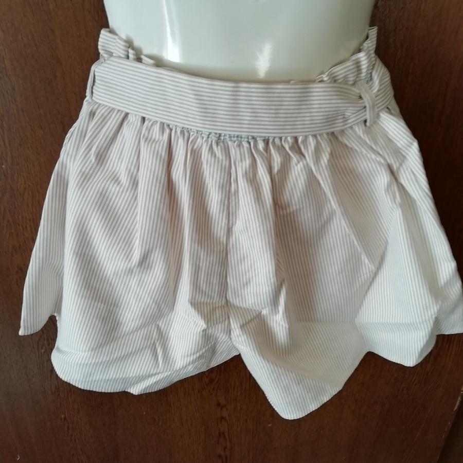 dazzlin(ダズリン) リボン結びストライプ柄ミニスカート