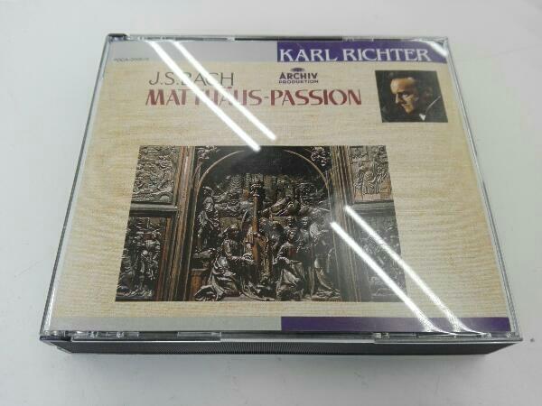 カール・リヒター/ミュンヘン・バッハ管弦楽団 CD バッハ:マタイ受難曲_画像1