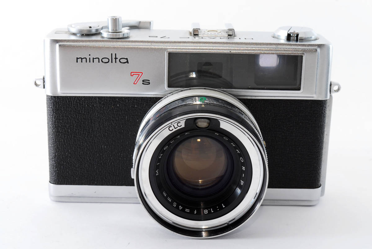 【即決 現状品】Minolta Hi-matic 7s Film Camera w/45mm f1.8 Lens #1102 ミノルタ 36@wi_画像3