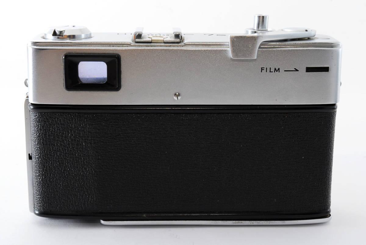 【即決 現状品】Minolta Hi-matic 7s Film Camera w/45mm f1.8 Lens #1102 ミノルタ 36@wi_画像6