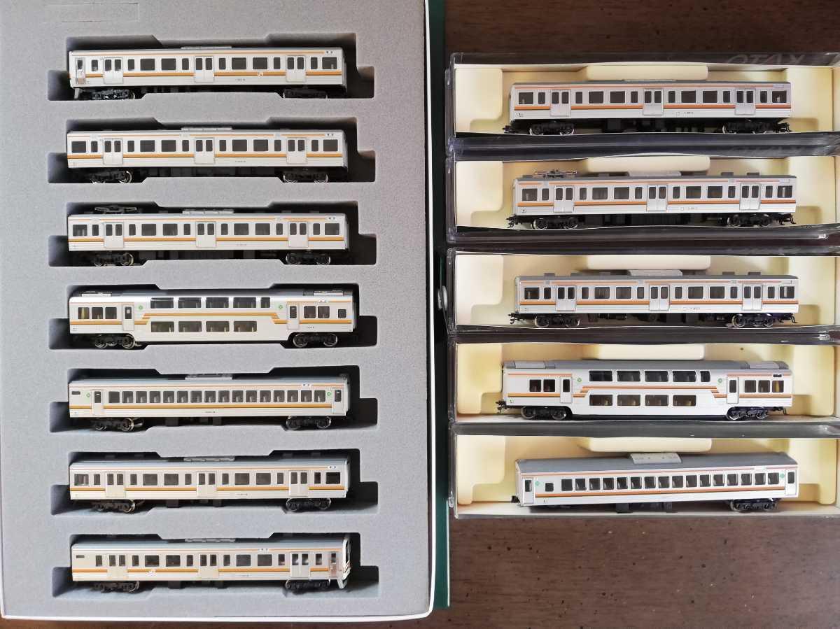 KATO 211系 東海道線仕様 12両セット 10-441,10-442,4148,4156(この1両はジャンク品