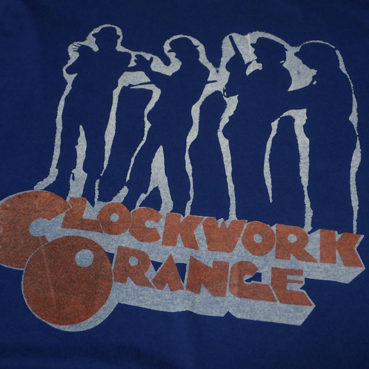 ■ 90s CLOCKWORK ORANGE Vintage T-shirt ■ 時計じかけのオレンジ ヴィンテージ Tシャツ 当時物 本物 映画 ムービー_画像1