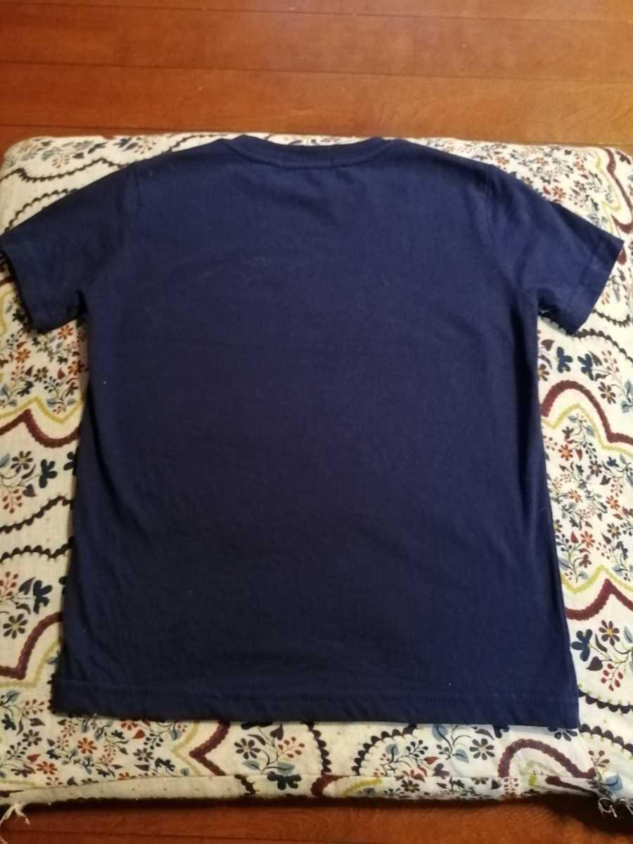 RALPH LAUREN ポロ ラルフローレン 半袖Tシャツ 子供服  110/56 4/4T 紺色_画像2