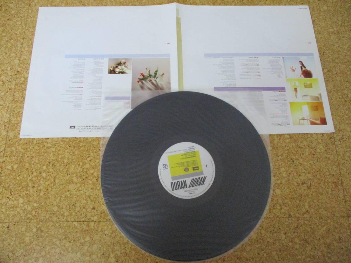 ◎Duran Duran デュラン・デュラン★Self Titled/日本LP盤☆帯、シート_画像3