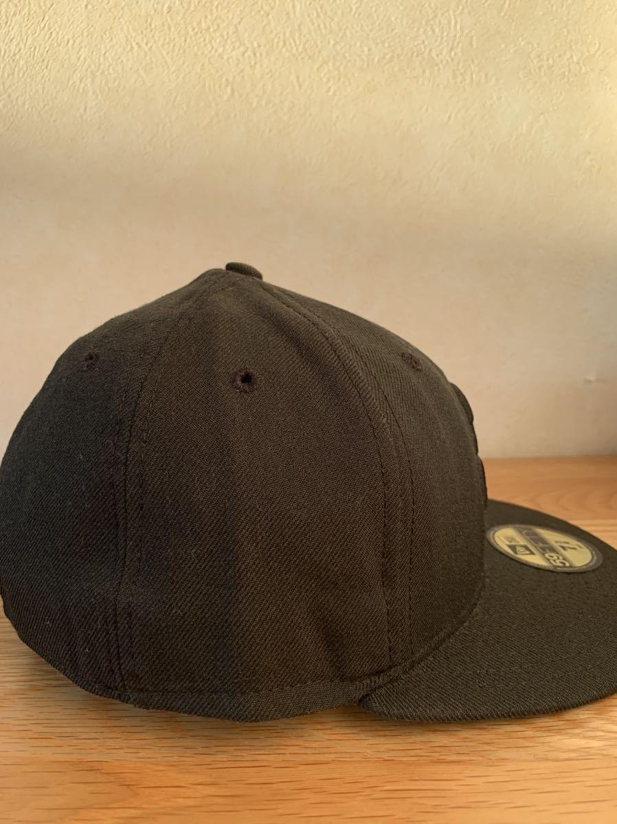 横浜ベイスターズ NEW ERA ニューエラ キャップ帽子 DeNA 7 3/8 ブラック 黒_画像4