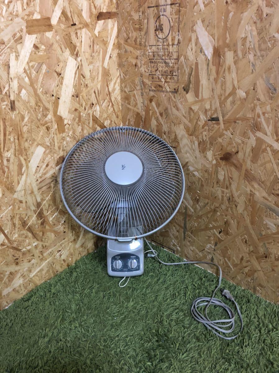 山善 壁掛け扇風機 動作確認済み 空調機 リビング扇風機 ヤマゼン_画像1