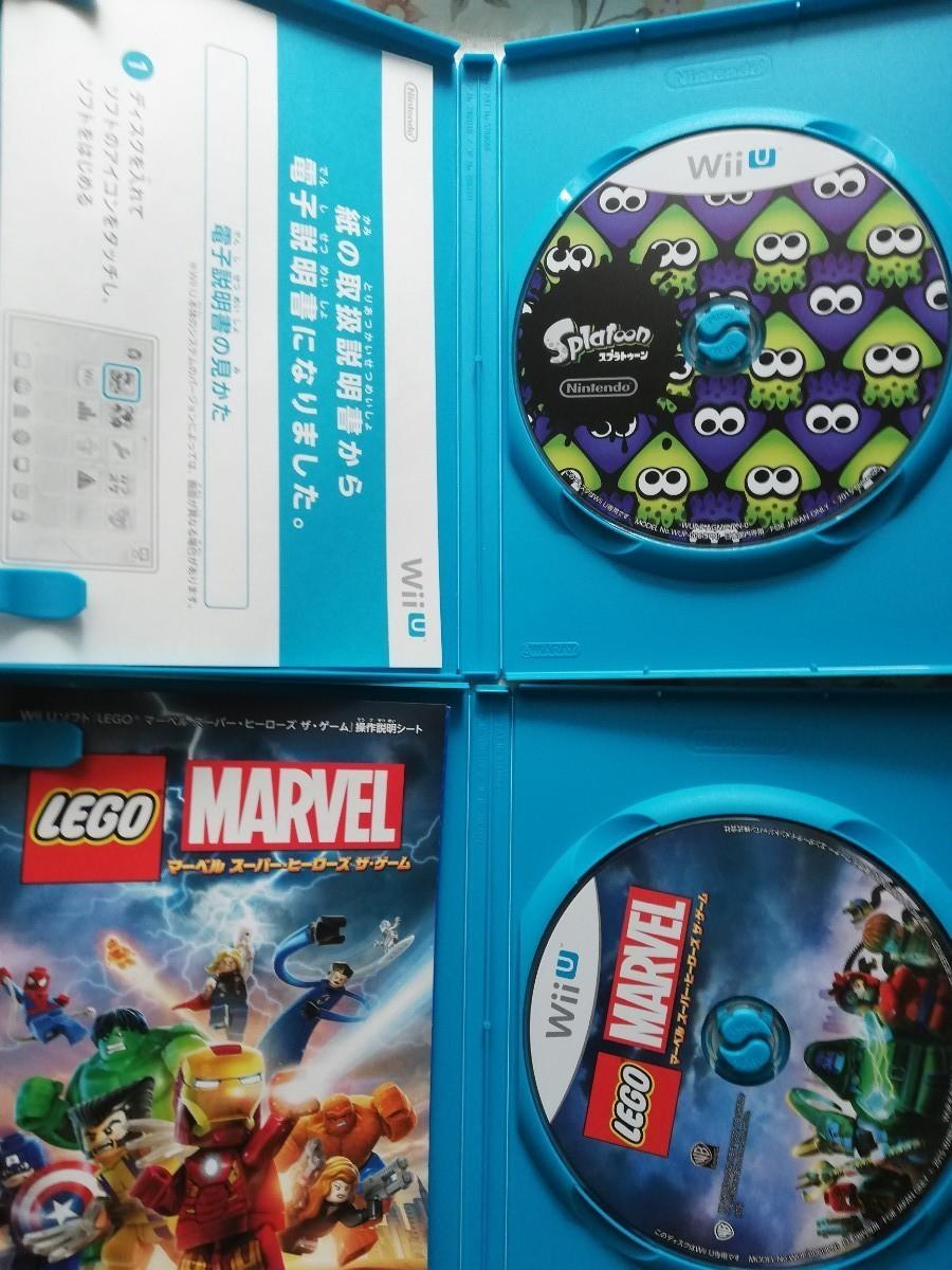 【Wii U】 LEGO マーベル スーパー・ヒーローズ  スプラトゥーン