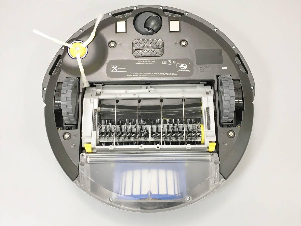 アイロボット iRobot ロボット掃除機 ルンバ Roomba 628 ホワイト ブラック 2005LS260_画像6