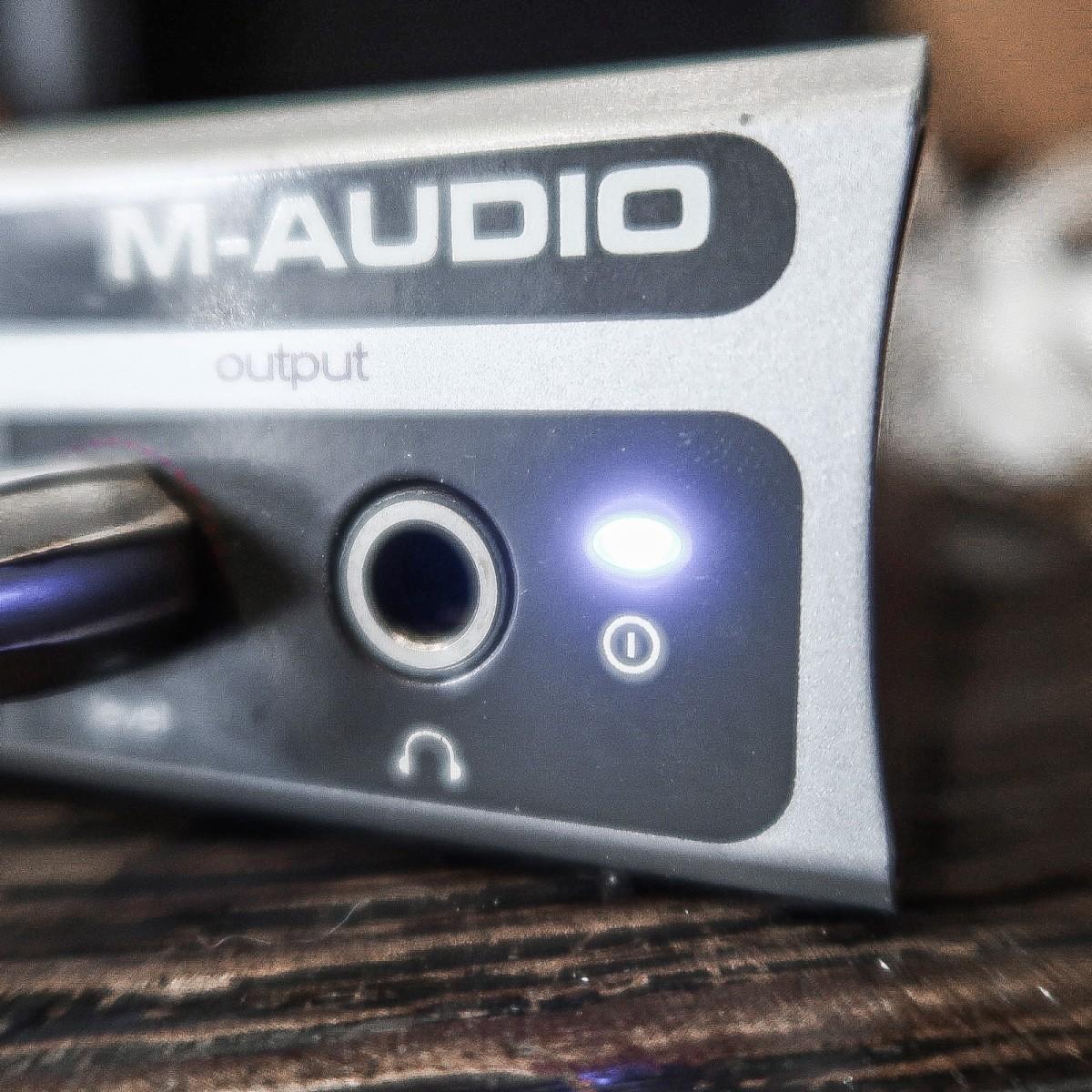 -ジャンク- M-AUDIO FireWire Solo エムオーディオ オーディオインターフェイス -GRUN SOUND-u643-_画像4