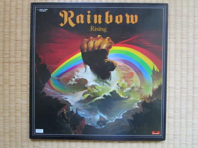 レア激安!1976年LP虹を翔る覇者/ブラックモアズ・レインボー/買時!! _画像1