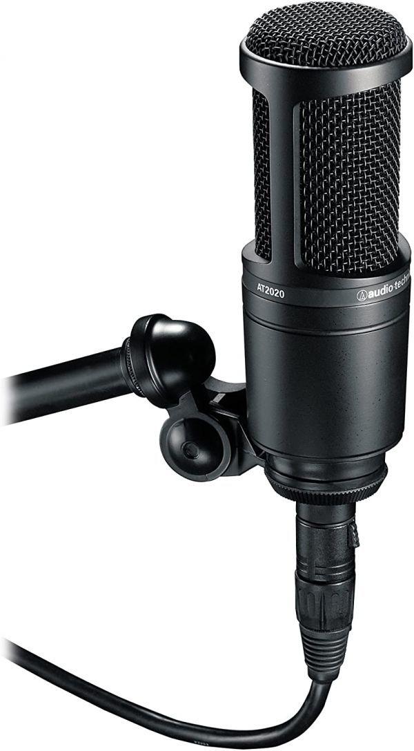 audio-technica オーディオテクニカ コンデンサーマイクロホン AT2020 生放送・録音・ポッドキャスト・実況・DTM_画像2