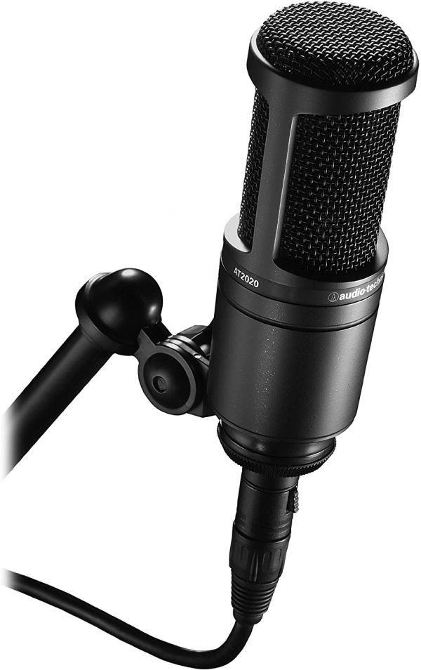 audio-technica オーディオテクニカ コンデンサーマイクロホン AT2020 生放送・録音・ポッドキャスト・実況・DTM_画像3