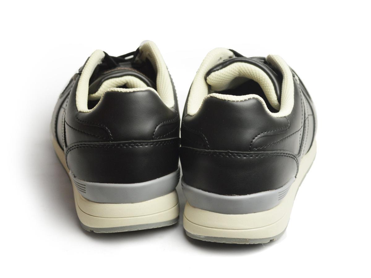 新品■25.5cm エドウィン EDWIN スニーカー メンズ カジュアル 軽量 カップインソール ウォーキングシューズ 防滑 シンプル 靴【エコ配送】_画像3
