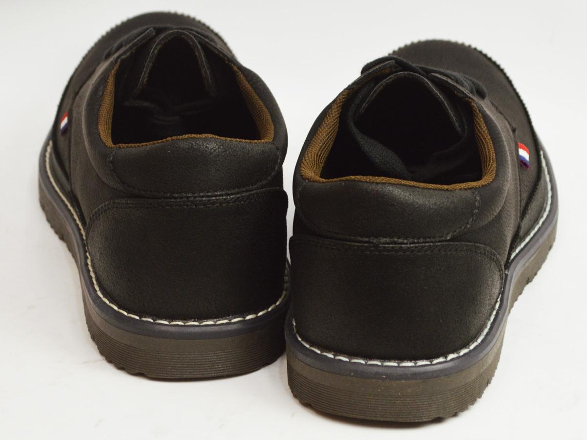新品■25cm 軽量 メンズ カジュアルシューズ 紐靴 スニーカー コンフォートシューズ 通気性 メッシュ レースアップ 紳士靴【エコ配送】_画像3