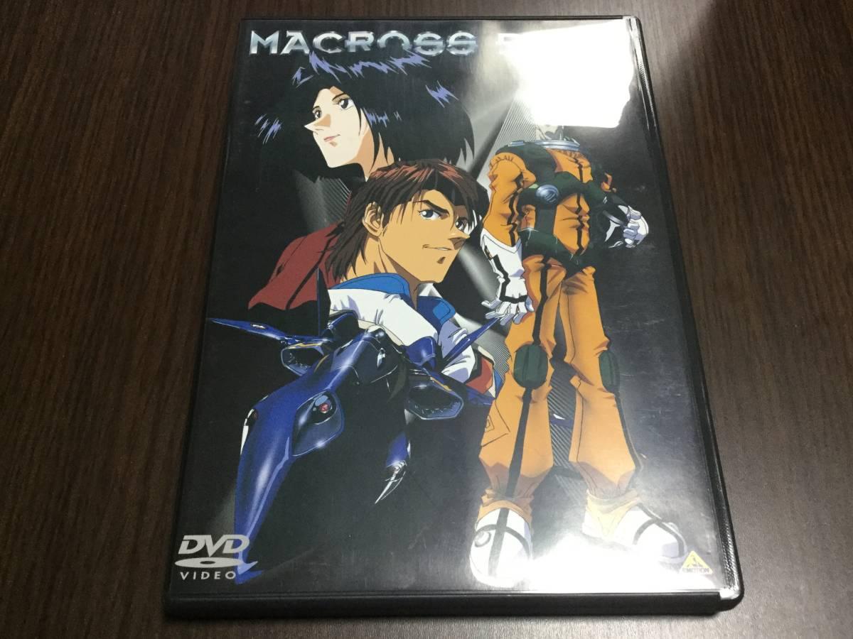 ◆マクロスプラス vol.1 DVD discキズ汚れ多め 国内正規品 MACROSS PLUS スタジオぬえ 河森正治 即決_画像1