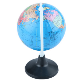 y235 ミニチュア 地球儀 8.5センチメートル 英語_画像2