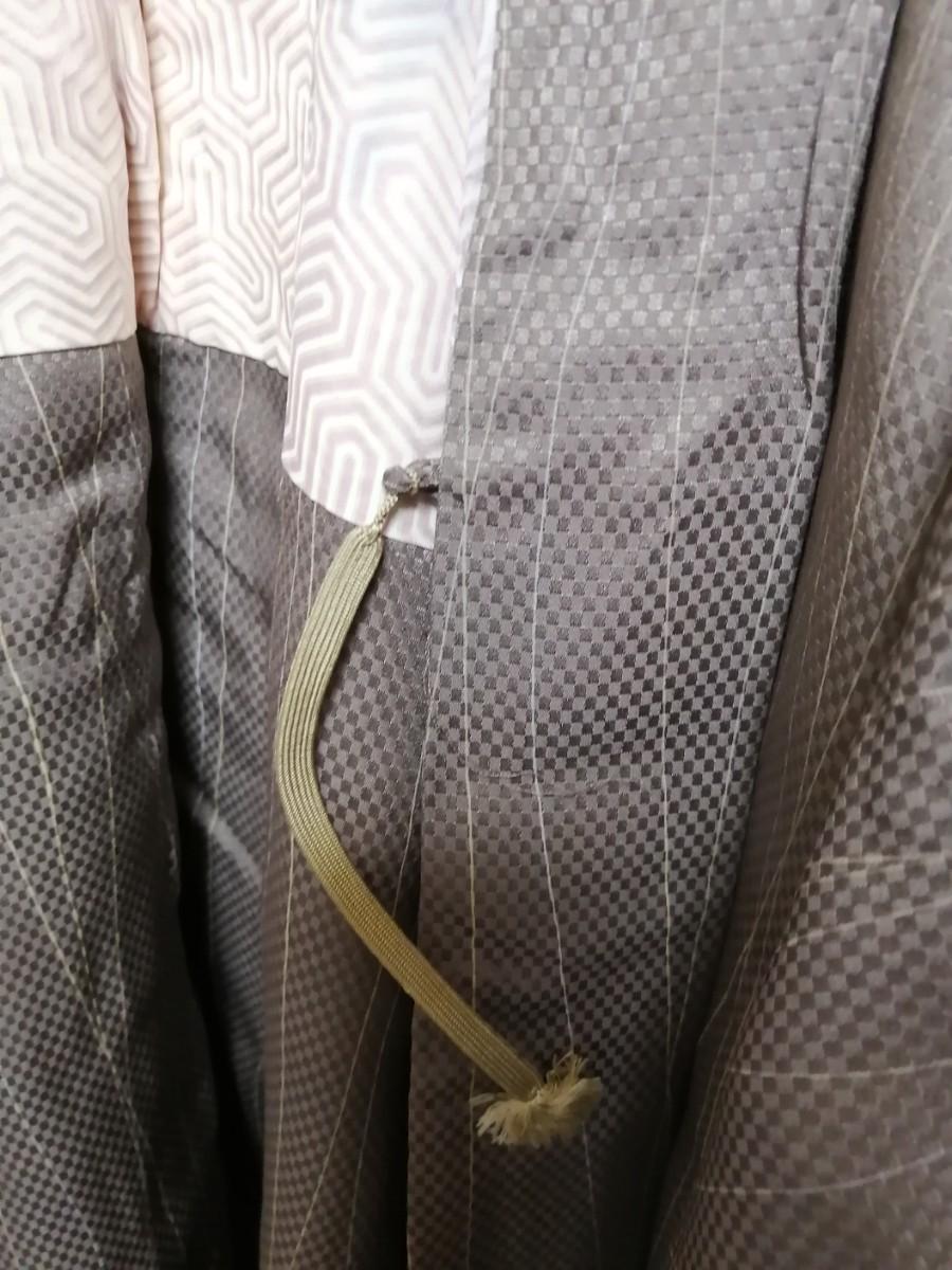 着物⑲ 羽織 グレー (女性用) 昭和レトロ 老村