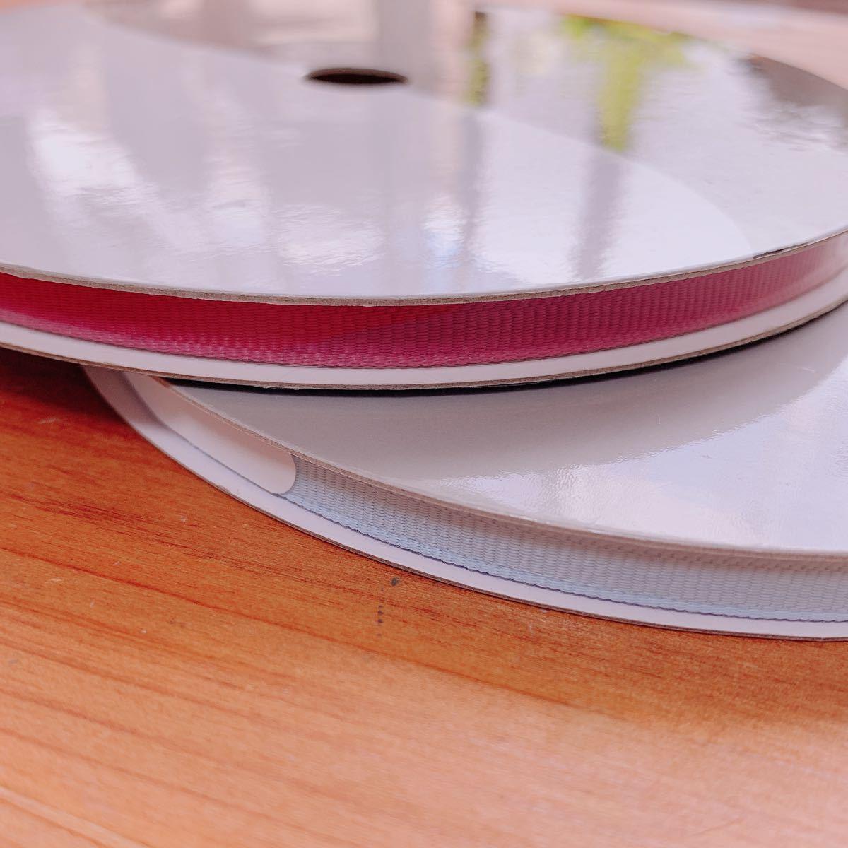 ラッピング用品 リボン 2巻セット 梱包 プレゼント ハンドメイド