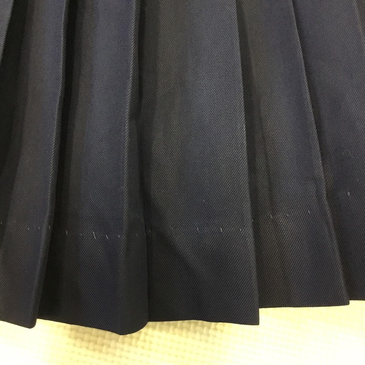 K278 (中古) 学生服 10枚セット /M/160/170/W62/W63/W66/半袖/長袖/ブラウス/ブレザー/スカート/制服/中学校/高校/女子学生/学生/学生服_画像9