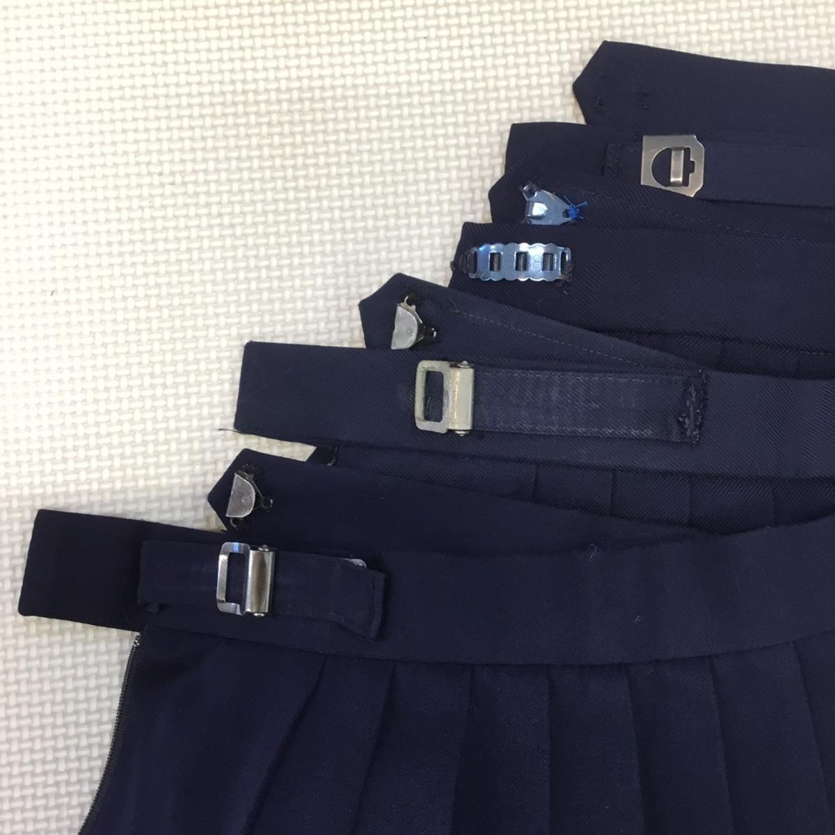 K278 (中古) 学生服 10枚セット /M/160/170/W62/W63/W66/半袖/長袖/ブラウス/ブレザー/スカート/制服/中学校/高校/女子学生/学生/学生服_画像7