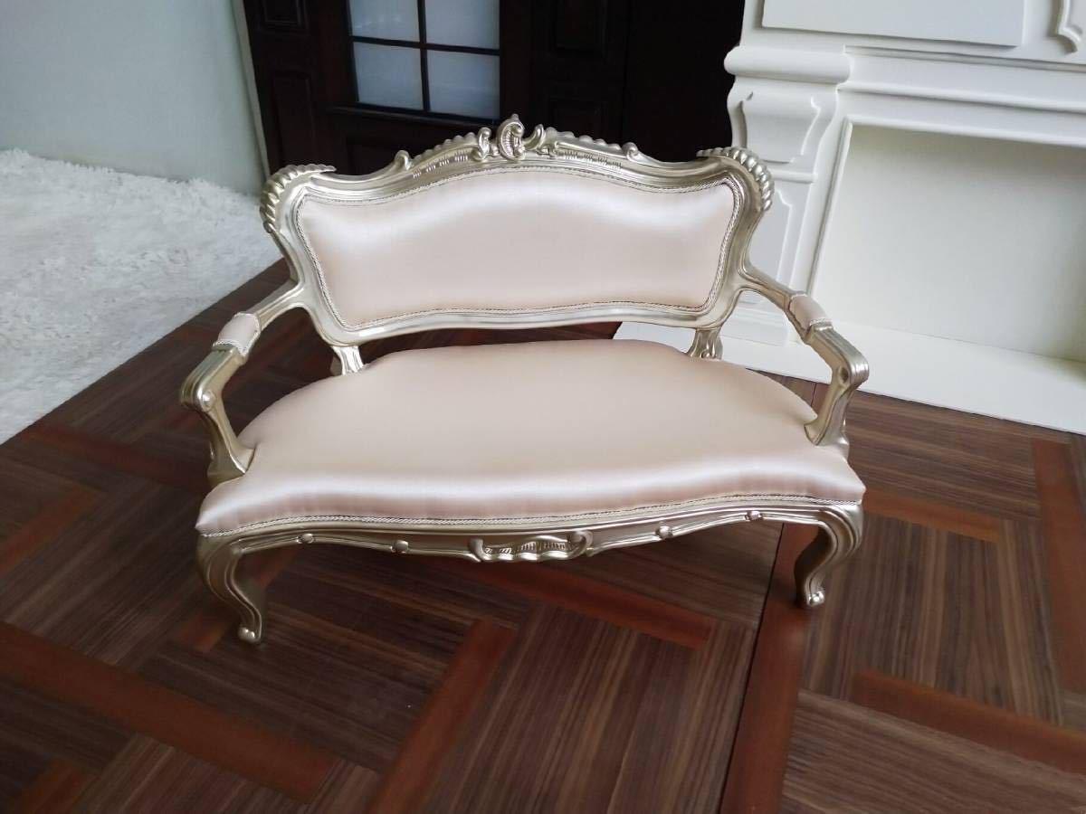 新品 特価商品 BJD用家具 ソファー 全2色 SD/DDサイズ 椅子 生地のオーダー可能 高品質 ドール用 doll 球体関節人形用 撮影 YY-001_画像3