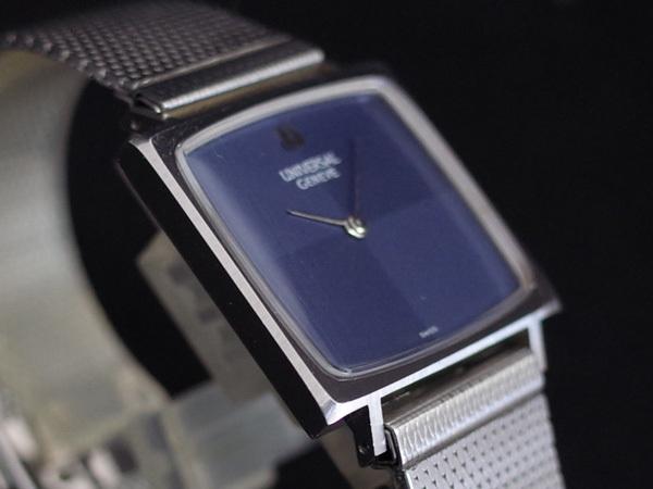 OH済み♪【ユニバーサル ジュネーブ】デッドストック級 ロイヤルブルー 手巻き メンズ 70年代 国内正規 UNIVERSAL GENEVE_画像5