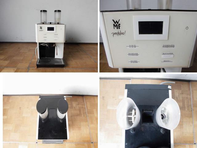 中古厨房 WMF 業務用 コーヒーマシン prestolino 単相200V ミルククーラー×2個 浄水器おまけ付 カフェ エスプレッソ ラテ_画像2