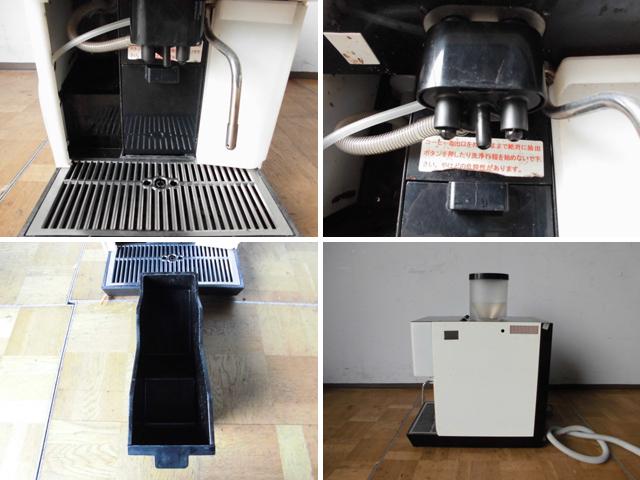 中古厨房 WMF 業務用 コーヒーマシン prestolino 単相200V ミルククーラー×2個 浄水器おまけ付 カフェ エスプレッソ ラテ_画像3