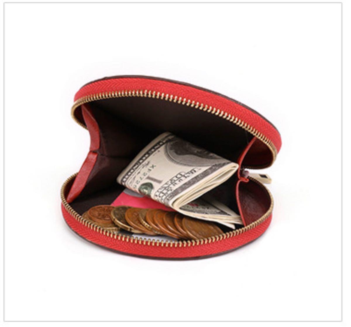 【コインケース  天然本革 カードが入れる】レディース  メンズ  小銭入れ
