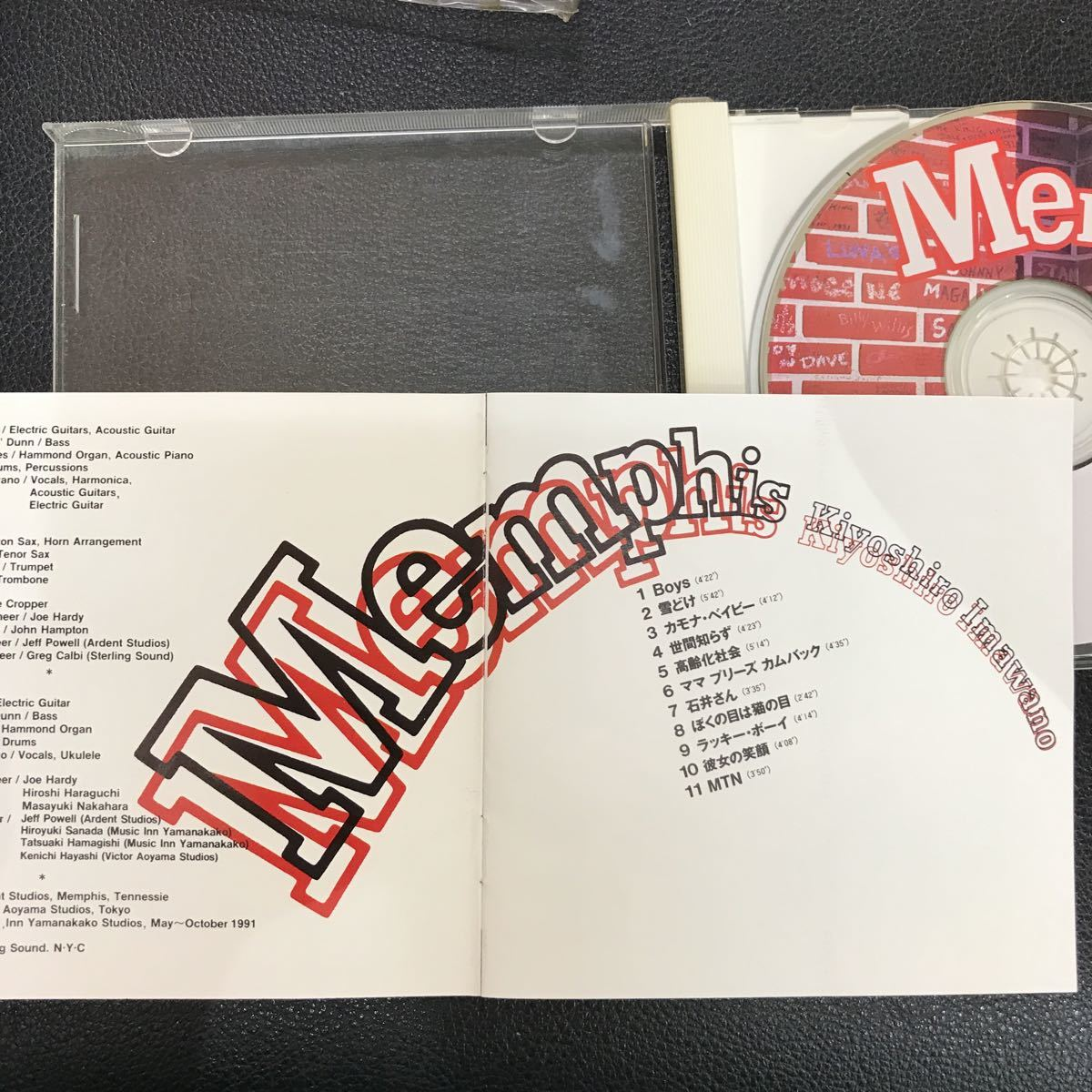 CD 中古☆【邦楽】忌野清志郎 メンフィス