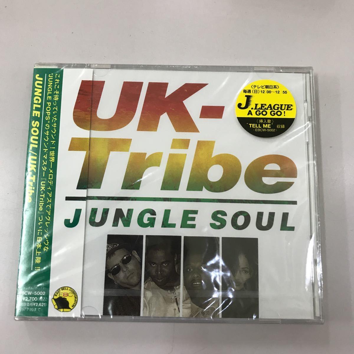 CD 未開封【洋楽】長期保存品 JUNGLE SOUL UK Tribe