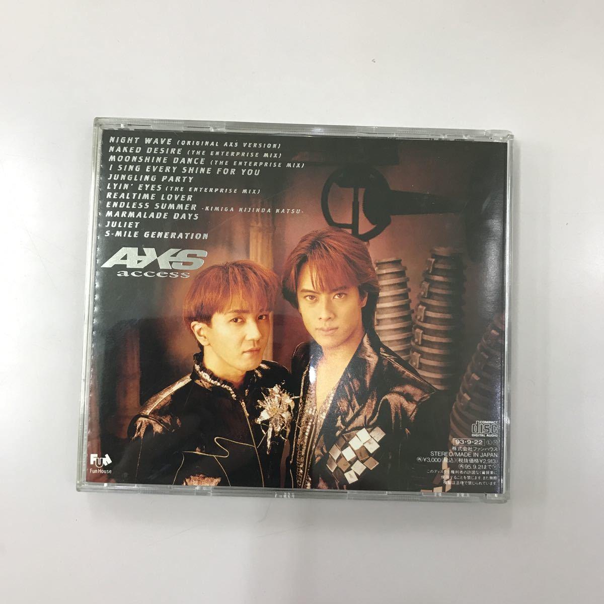 CD 中古☆【邦楽】ACCESS II access