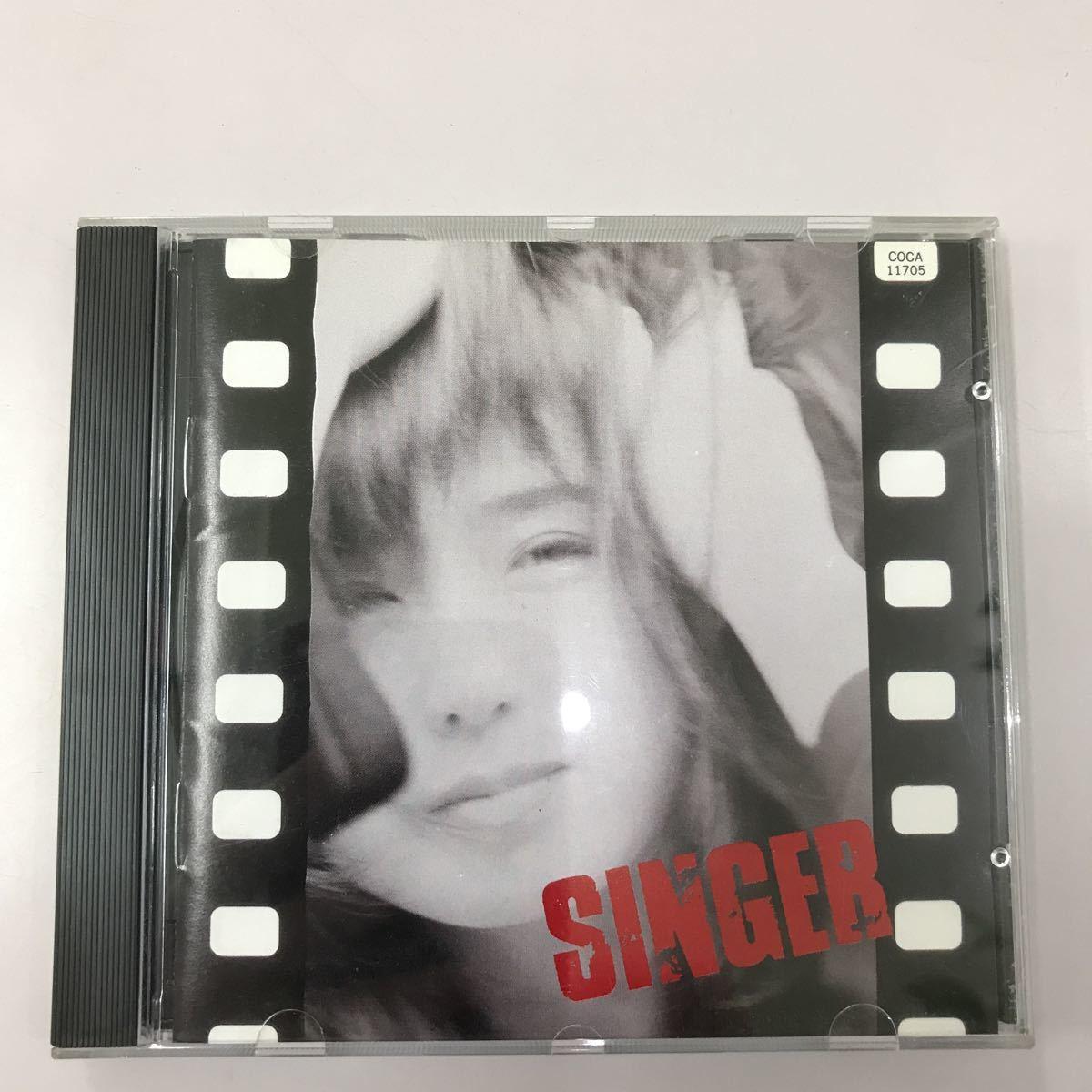CD 中古☆【邦楽】藤谷美和子 singer