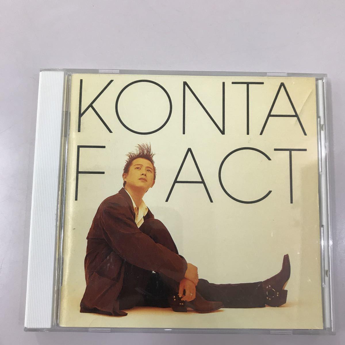 CD 中古☆【邦楽】KONTA F ACT