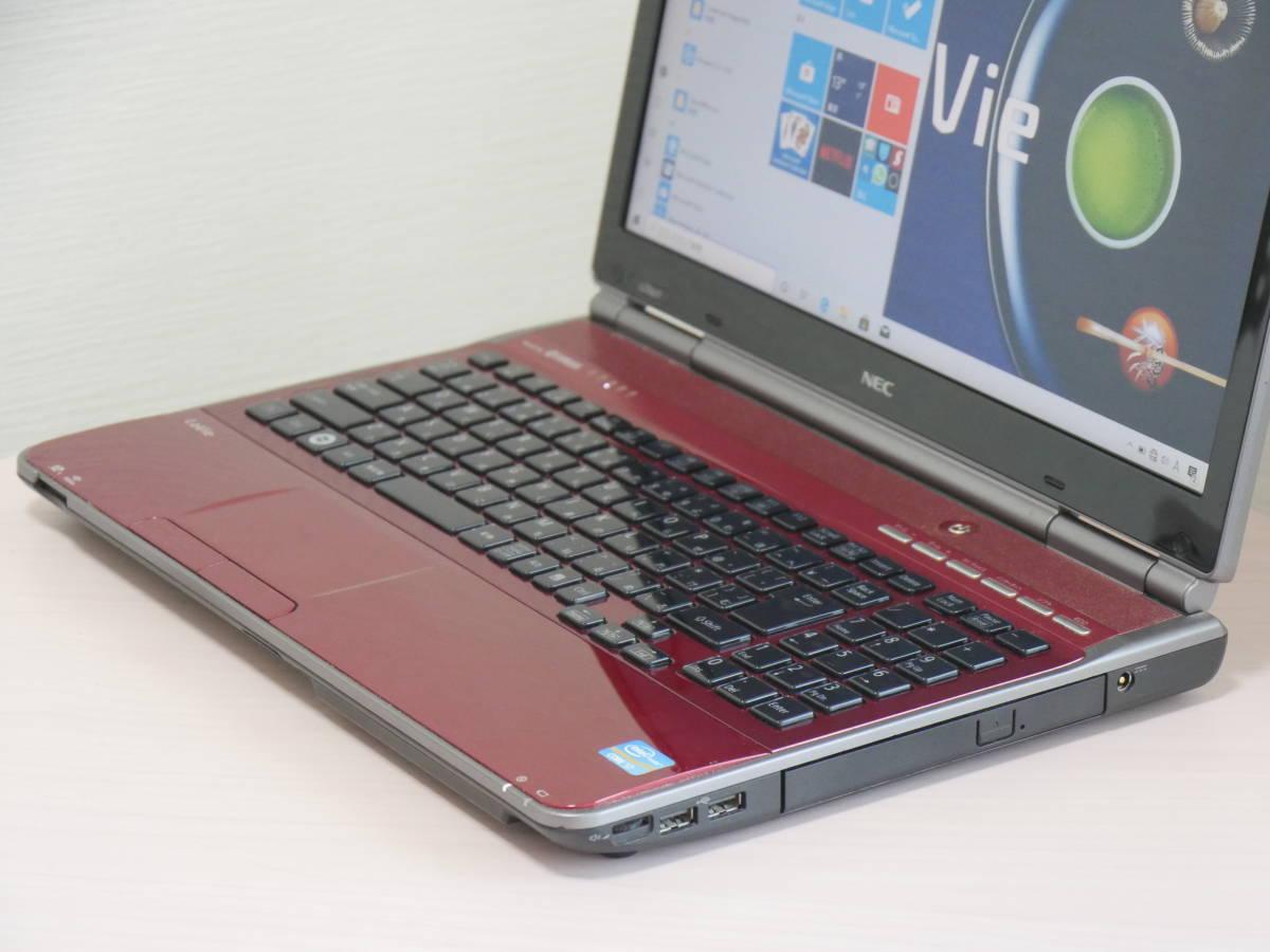 新品大容量SSD500GB NEC LaVie LL750/F 第2世代Core i7-2670QM メモリ8GB Windows10 Office BDXL対応Blu-ray_画像4