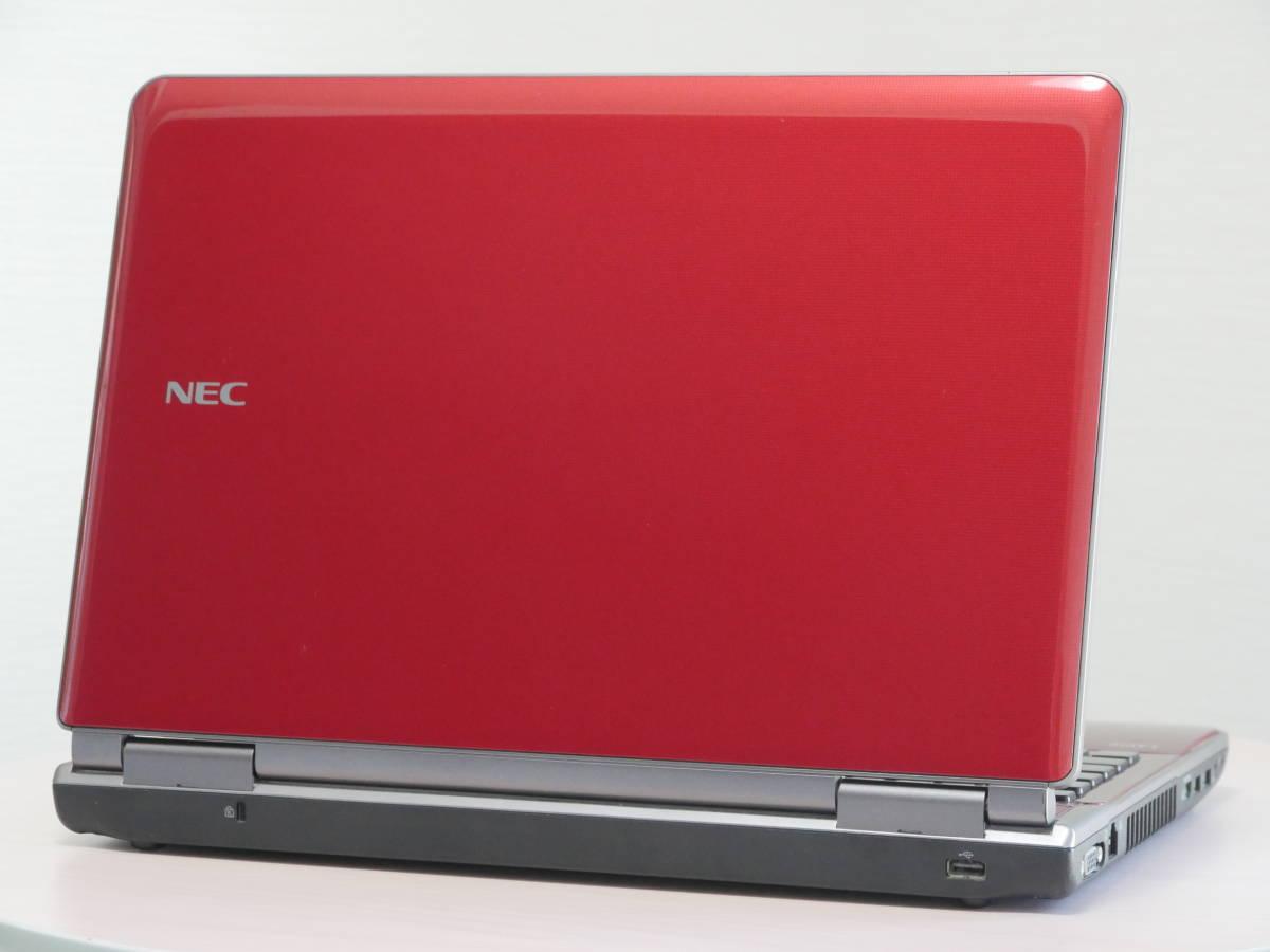新品大容量SSD500GB NEC LaVie LL750/F 第2世代Core i7-2670QM メモリ8GB Windows10 Office BDXL対応Blu-ray_画像6