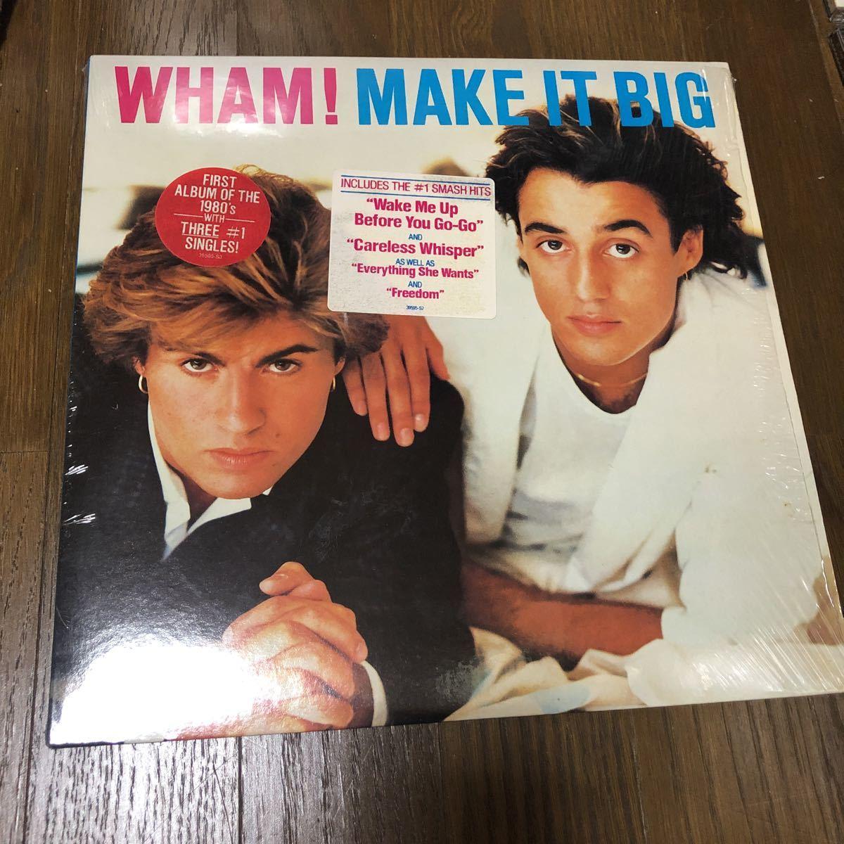 Wham! Make It Big USA盤レコード【シュリンク残】_画像1