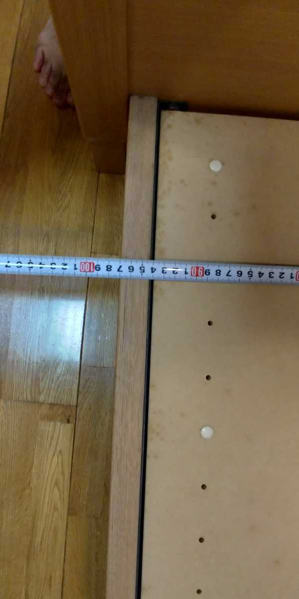 旭川家具 シングルベッド 2台セット カンディハウス 直接引き取り限定 USED マットレス付き_画像5