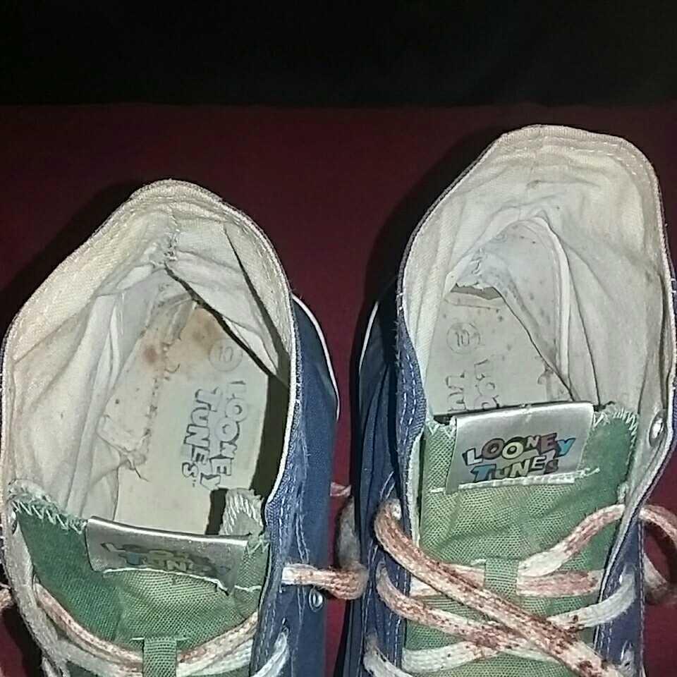 Tweety トゥイーティー LOONEY TUNES ルーニー テューンズ ハイカットスニーカー 表記 10 アウトソール約28cm シューズ スニーカー 靴 _画像8