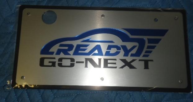 READY GO NEXT ナンバープレートカバー リア用_画像1