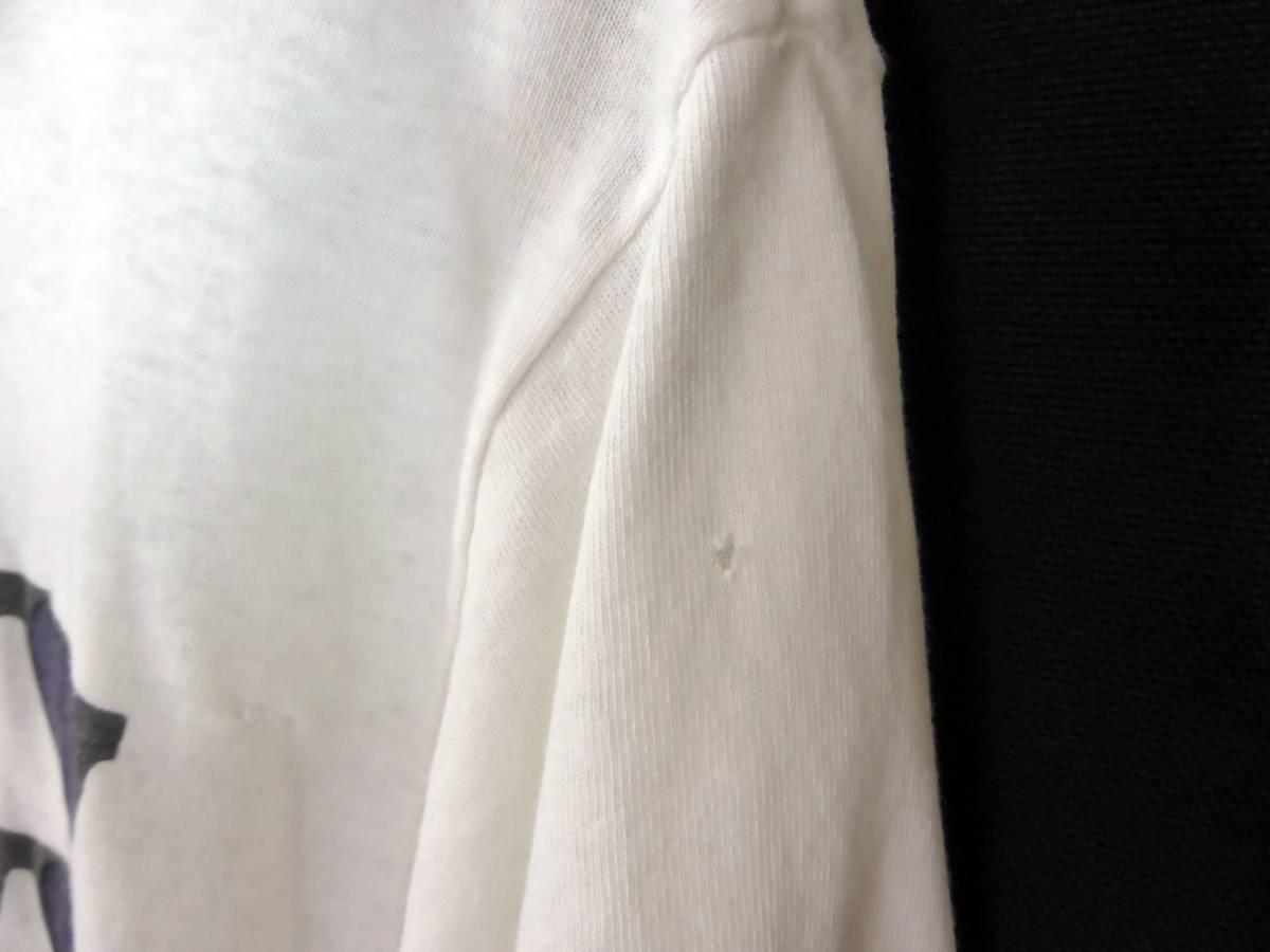 激レア!! 90s ビンテージ【ZZ TOP】91年 ツアー バンドTシャツ ZZトップ 白 STEVE MILLER ERIC GOHNSON EXTREME_画像5