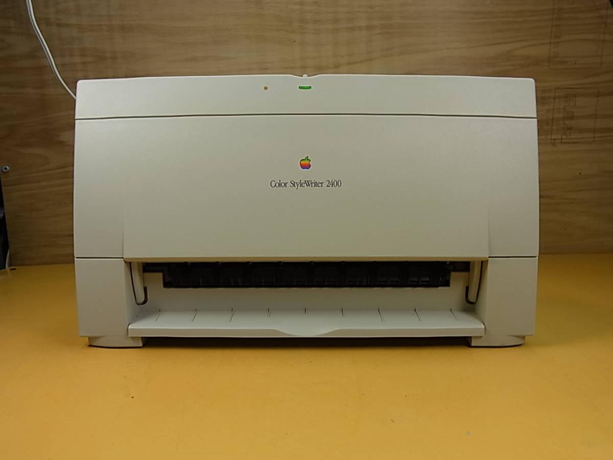 □Ya/924☆アップル Apple☆Mac用カラープリンタ☆Color StyleWriter2400☆M2841☆ジャンク_画像2