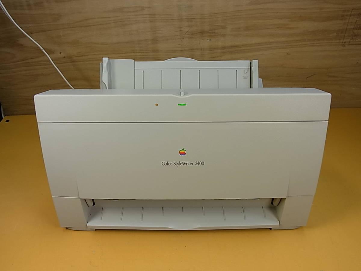 □Ya/924☆アップル Apple☆Mac用カラープリンタ☆Color StyleWriter2400☆M2841☆ジャンク_画像1