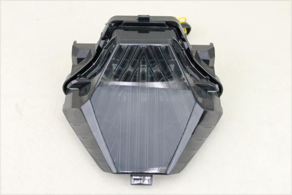 YZF-R25 ウインカー付 LEDスモークテールランプ MT-25 YZF-R3 MT-07 MT-03 LEDテールランプ YAMAHA ヤマハ_画像2